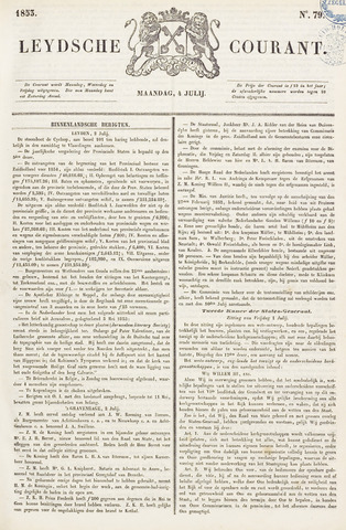 Leydse Courant 1853-07-04