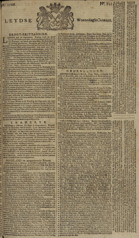Leydse Courant 1766-10-08