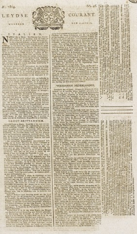 Leydse Courant 1814-04-18