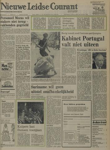 Nieuwe Leidsche Courant 1975-01-27