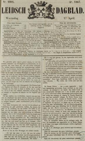 Leidsch Dagblad 1867-04-17