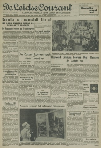 Leidse Courant 1958-06-30