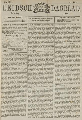 Leidsch Dagblad 1878-06-01