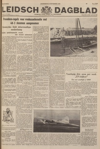 Leidsch Dagblad 1951-09-06