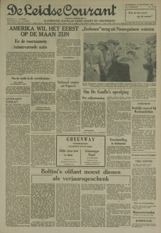 Leidse Courant 1962-09-13