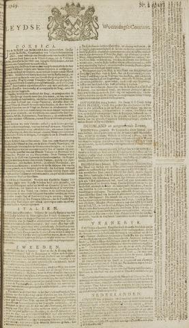 Leydse Courant 1769-01-18