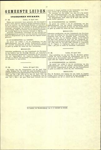Handelingen van de Raad 1945-04-19