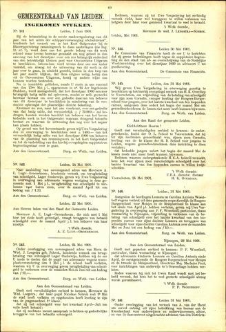 Handelingen van de Raad 1901-06-01