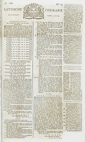 Leydse Courant 1828-06-09