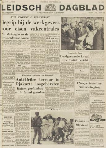 Leidsch Dagblad 1963-09-19