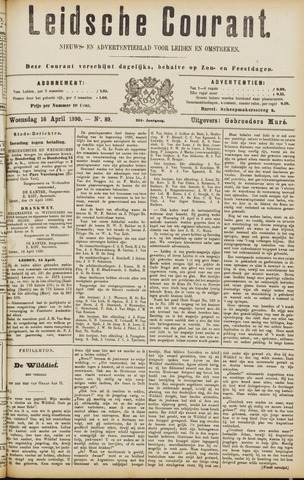 Leydse Courant 1890-04-16