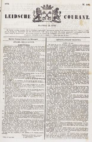 Leydse Courant 1876-06-26
