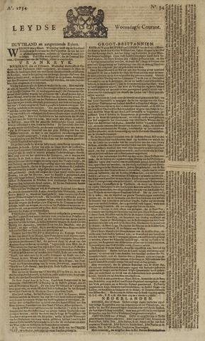 Leydse Courant 1754-03-20