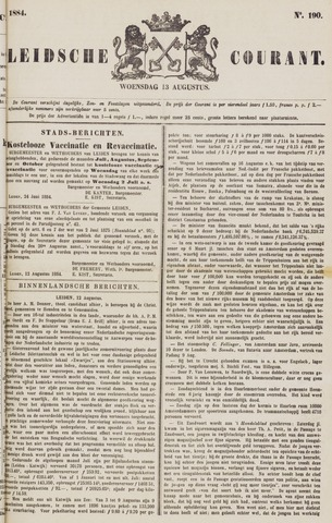 Leydse Courant 1884-08-13