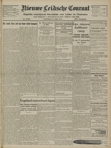 Nieuwe Leidsche Courant 1939-06-17