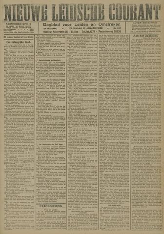 Nieuwe Leidsche Courant 1923-01-13