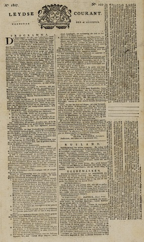 Leydse Courant 1807-08-26
