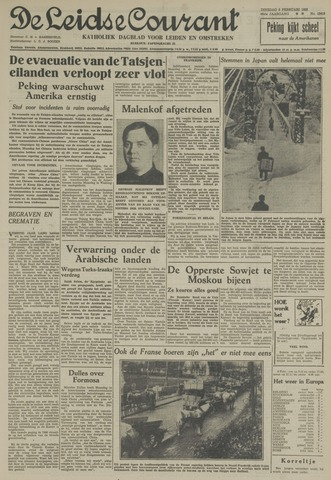 Leidse Courant 1955-02-08