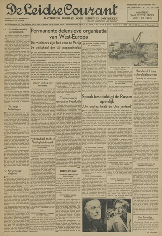 Leidse Courant 1948-09-29