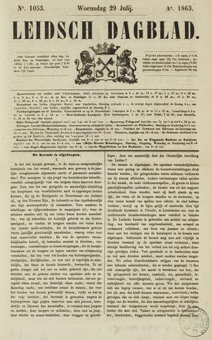 Leidsch Dagblad 1863-07-29