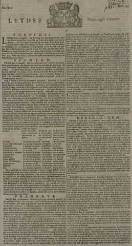 Leydse Courant 1729-09-26