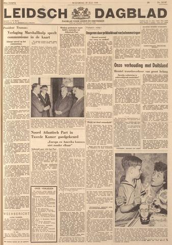 Leidsch Dagblad 1949-07-20