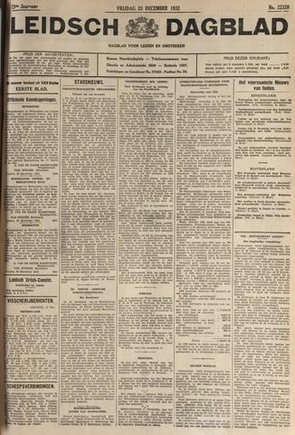 Leidsch Dagblad 1932-12-23