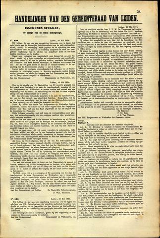 Handelingen van de Raad 1874-05-26