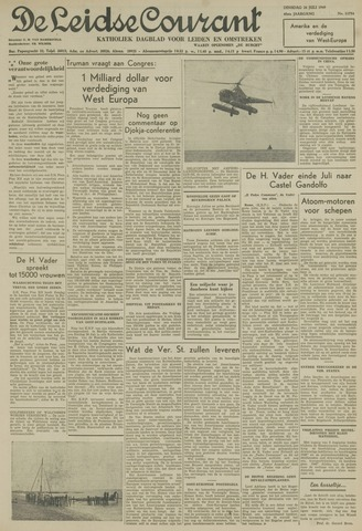 Leidse Courant 1949-07-26