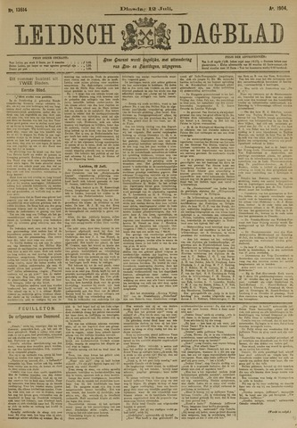 Leidsch Dagblad 1904-07-12