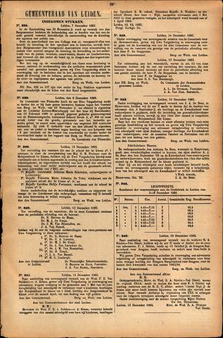 Handelingen van de Raad 1893-12-07