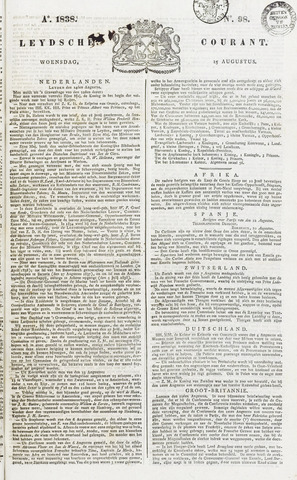 Leydse Courant 1838-08-15