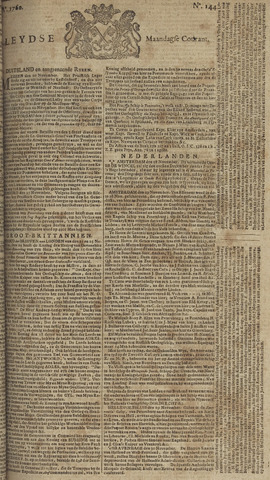 Leydse Courant 1760-12-01
