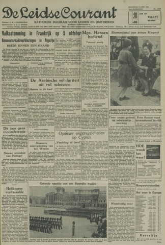Leidse Courant 1958-06-09