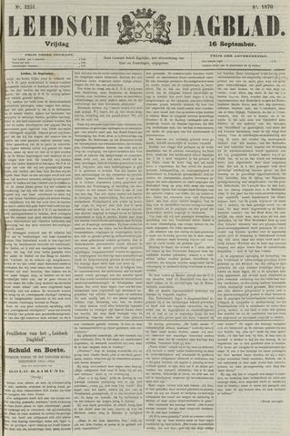 Leidsch Dagblad 1870-09-16