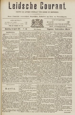 Leydse Courant 1887-04-16