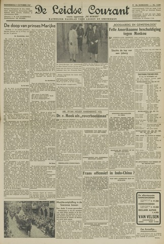 Leidse Courant 1947-10-09