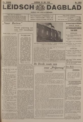 Leidsch Dagblad 1938-07-30