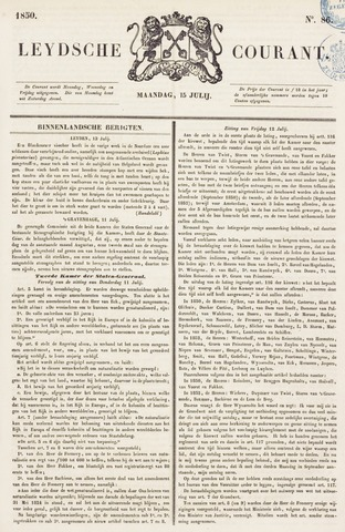 Leydse Courant 1850-07-15