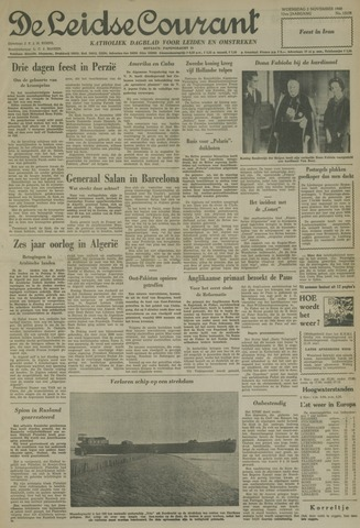 Leidse Courant 1960-11-02