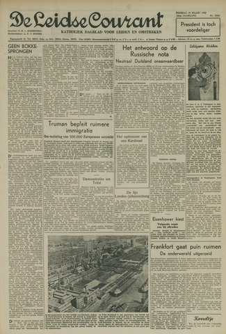 Leidse Courant 1952-03-25