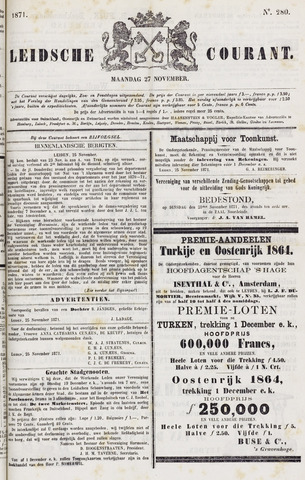 Leydse Courant 1871-11-27