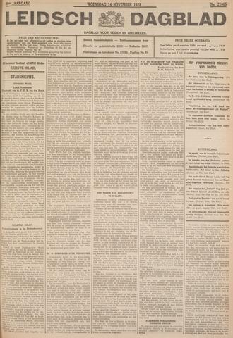 Leidsch Dagblad 1928-11-14