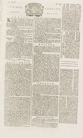 Leydse Courant 1818-06-22