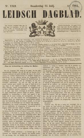 Leidsch Dagblad 1864-07-14