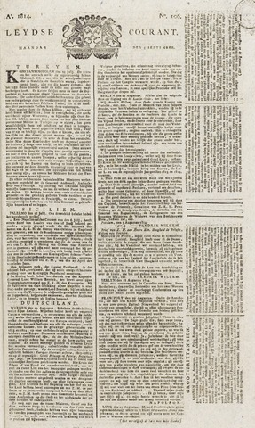 Leydse Courant 1814-09-05