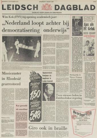 Leidsch Dagblad 1977-09-05