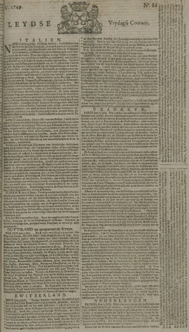 Leydse Courant 1749-07-18