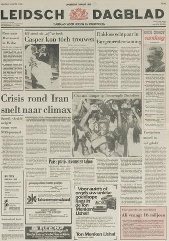 Leidsch Dagblad 1980-04-18
