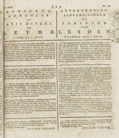 Leydse Courant 1812-06-01